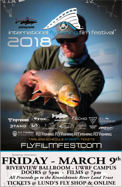 River falls fly fishing festival sponsored by lund s fly for International fly fishing film festival