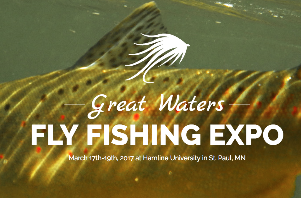 Visit St. Paul Fly Tiers at the Great Waters Fly Fishing Expo