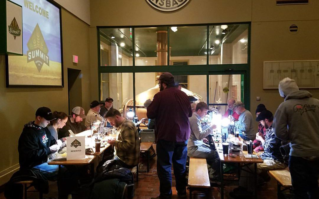 April 13th Beer Tie: An Evening of Fly Tying at Summit Beer Hall