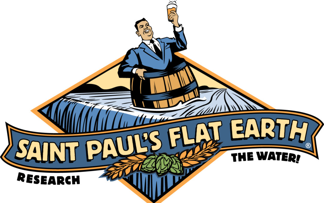 February 22 Beer Tie  | Flat Earth Brewery